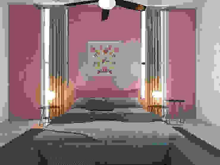 Casa PI Dormitorios modernos de Punto Libre Arquitectura Moderno