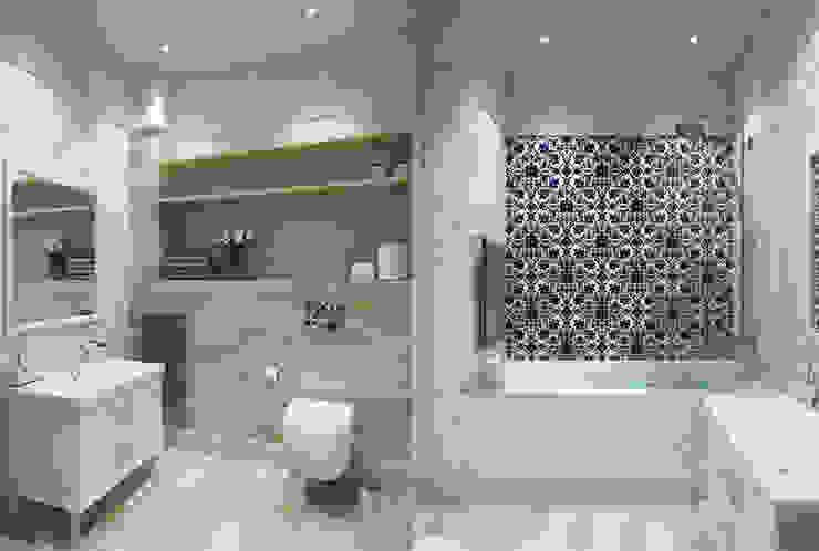 Дизайн квартиры Ванная в классическом стиле от EuroKvartira Классический