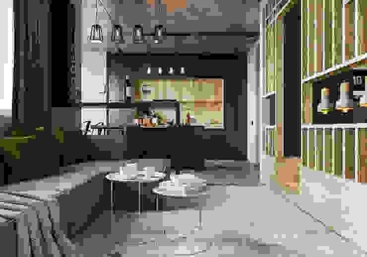 Salas de estilo industrial de AEgroup Industrial