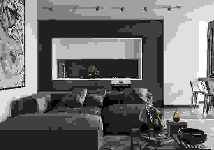 Salas de estilo moderno de AEgroup Moderno