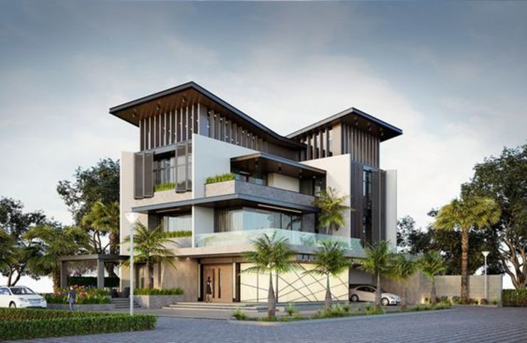 Kiến trúc Hoa Vinh Villas