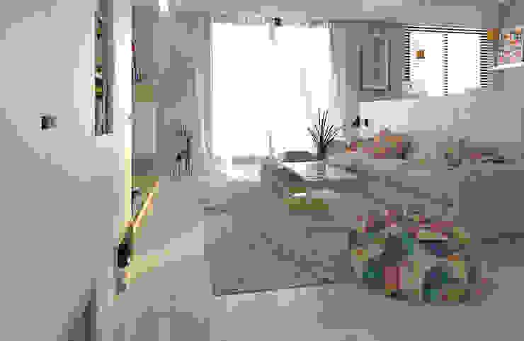 全室以純白基調,創造出明亮純淨的空間基調 根據 雅和室內設計 北歐風