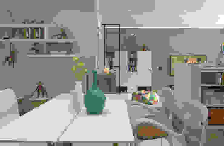 櫃上獼猴公仔增添趣味性與溫馨感 根據 雅和室內設計 北歐風