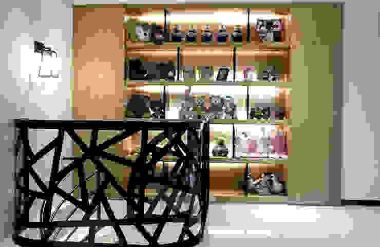 禪意人文混搭哲學 現代風玄關、走廊與階梯 根據 雅和室內設計 現代風