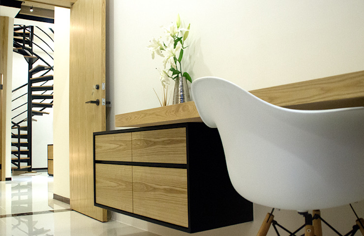 以現代溫馨、優雅的語彙鋪陳 根據 雅和室內設計 現代風