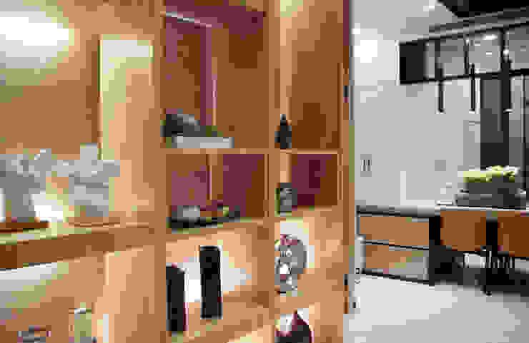 空間流暢的動線 敞開性與自由度 現代風玄關、走廊與階梯 根據 雅和室內設計 現代風