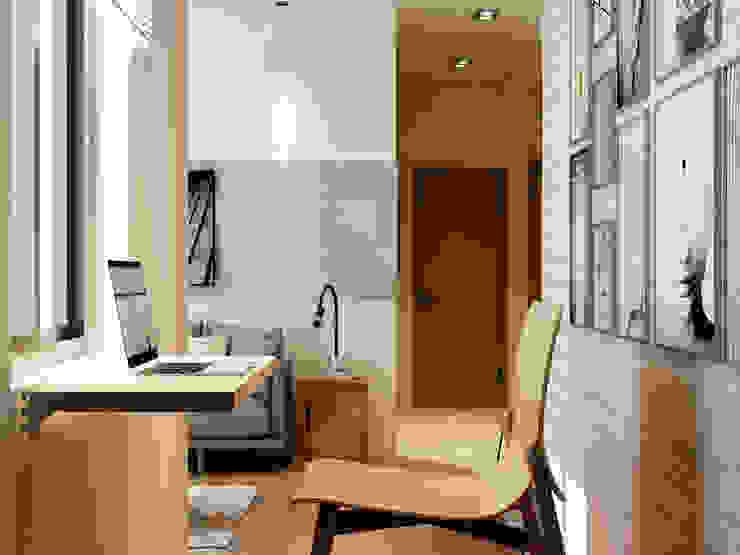 Minimalist study/office by Coohom Minimalist