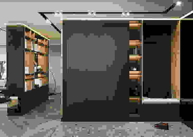 Eklektik Koridor, Hol & Merdivenler Студия авторского дизайна ASHE Home Eklektik