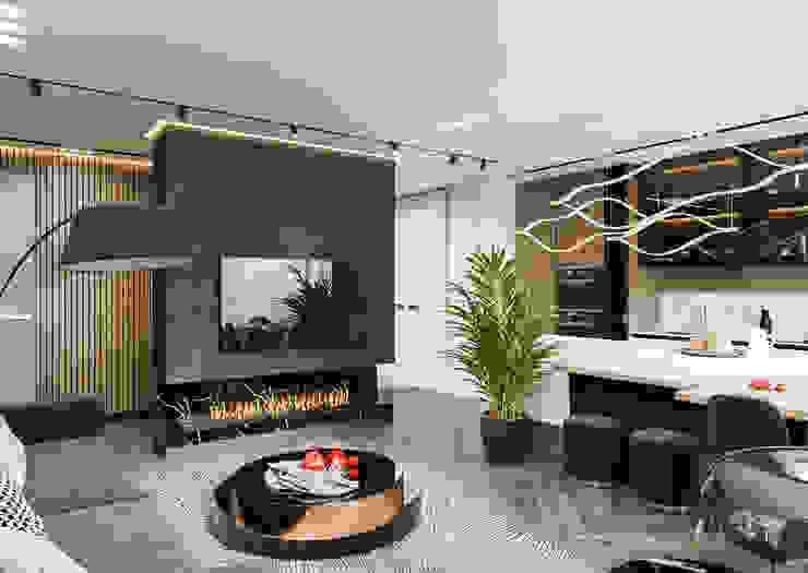 Студия авторского дизайна ASHE Home Living room