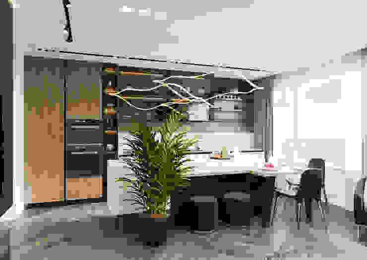 Студия авторского дизайна ASHE Home Kitchen