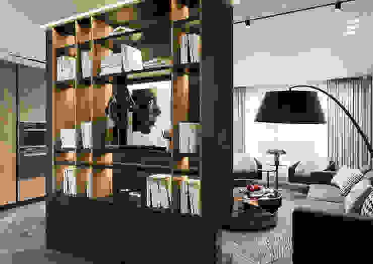 Eklektik Oturma Odası Студия авторского дизайна ASHE Home Eklektik