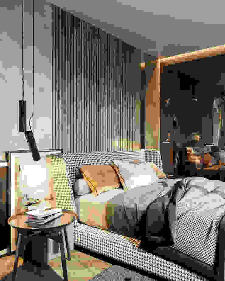 Eklektik Yatak Odası Студия авторского дизайна ASHE Home Eklektik