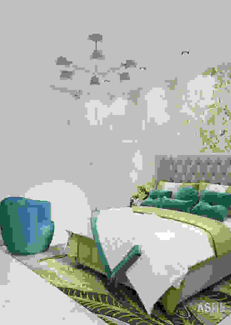 Студия авторского дизайна ASHE Home Small bedroom