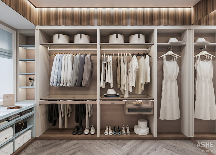 Студия авторского дизайна ASHE Home Eclectic style dressing rooms