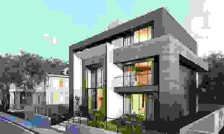 Baştan Villası Modern Evler VERO CONCEPT MİMARLIK Modern