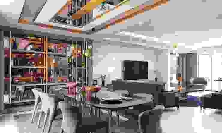 Baştan Villası Modern Yemek Odası VERO CONCEPT MİMARLIK Modern