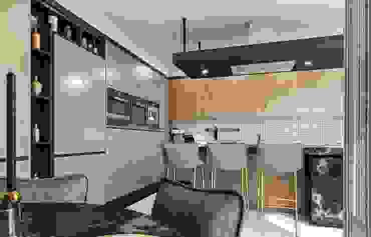 Baştan Villası Modern Mutfak VERO CONCEPT MİMARLIK Modern