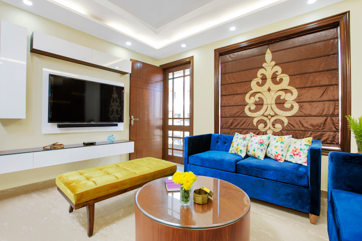 A Vibrant Delhi Home : modern  by Orizzonte Interiors Private Limited,Modern