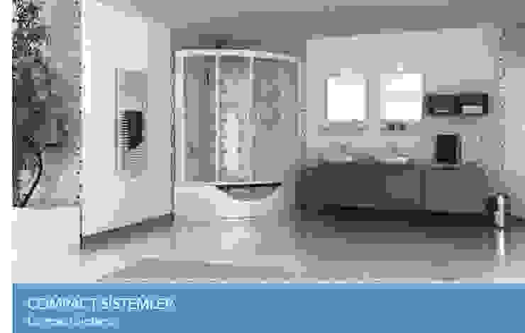 COMPACT SİSTEMLER Çalık Konsept Mimarlık BanyoKüvet & Duşlar Beyaz