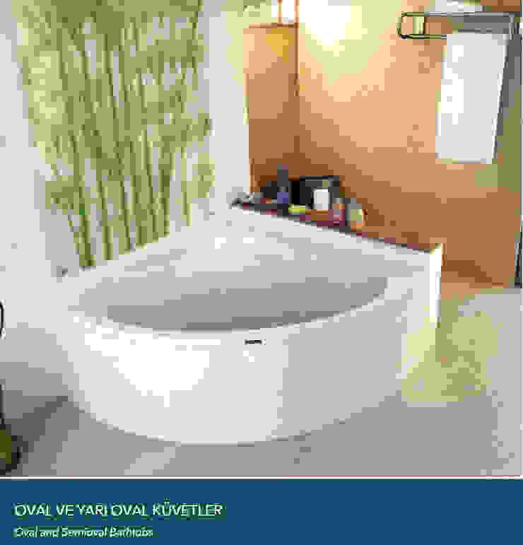 OVAL ve YARI OVAL KÜVETLER Çalık Konsept Mimarlık BanyoKüvet & Duşlar