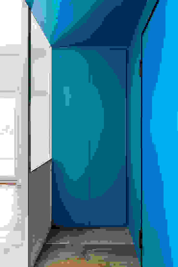 Partition House Soggiorno moderno di Caleidoscopio Architettura & Design Moderno Legno Effetto legno