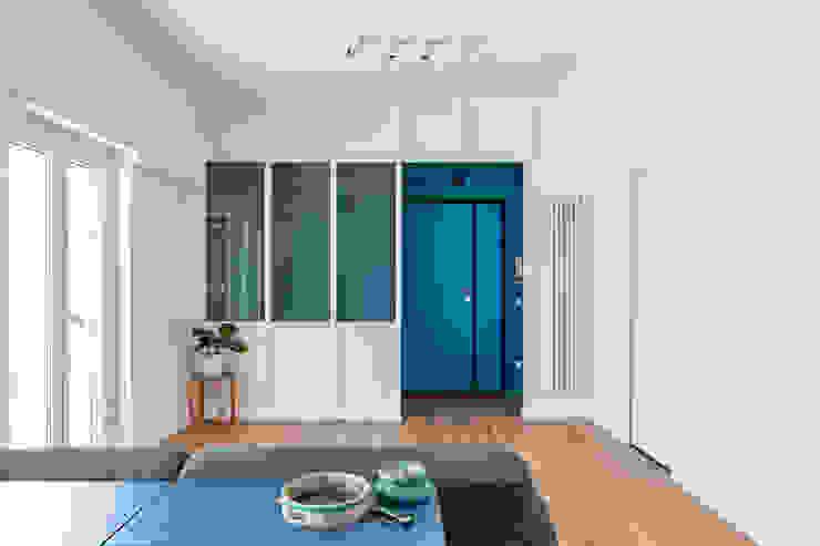 Partition House Soggiorno moderno di Caleidoscopio Architettura & Design Moderno