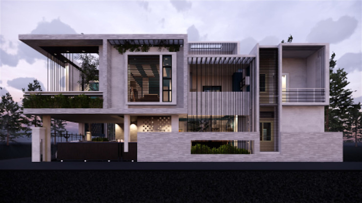 North Elevation by MAP Architects Modern