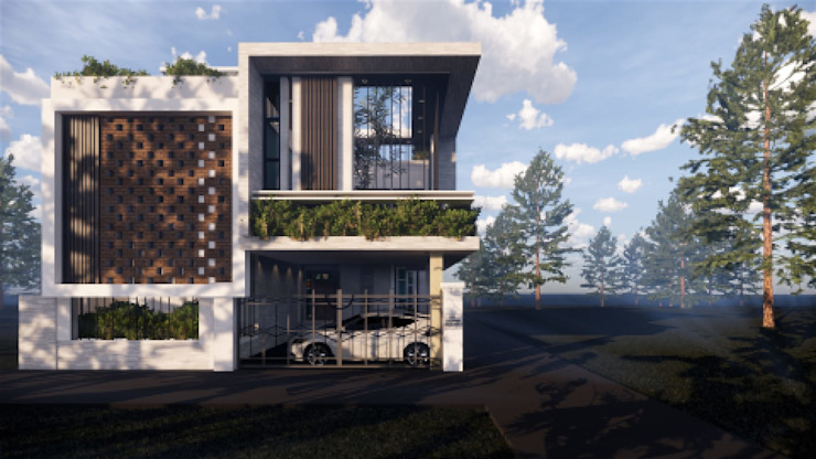 East Elevation by MAP Architects Modern