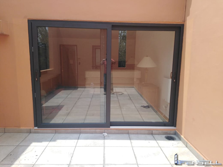 FENSELL Windows & doorsDoors Plastic Black