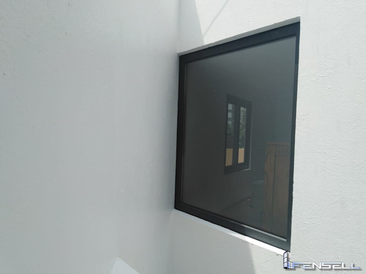 FENSELL Windows & doors Windows Plastic Black