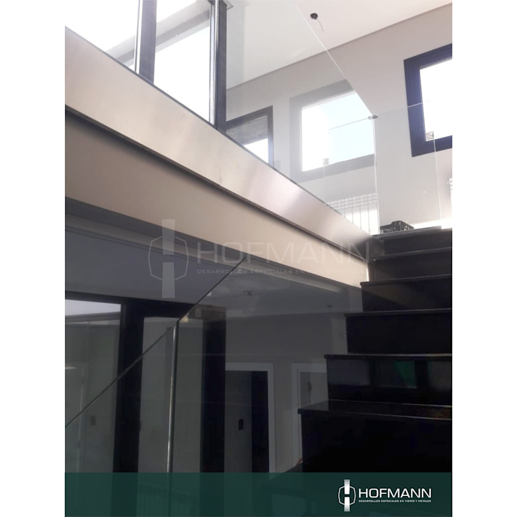 HOFMANN - DESARROLLOS EN VIDRIO Y METAL Stairs Glass Transparent