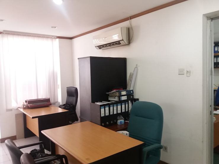 Interior Ruang Kerja / Office Oleh DSM Minimalis Kayu Wood effect