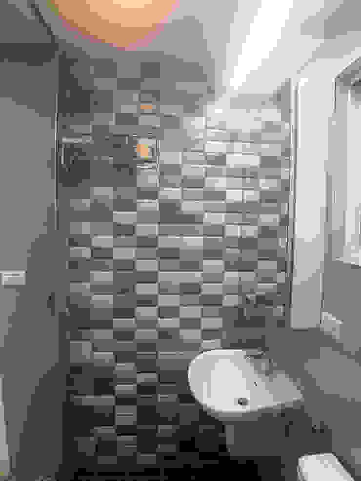3樓衛浴-主題牆 根據 houseda