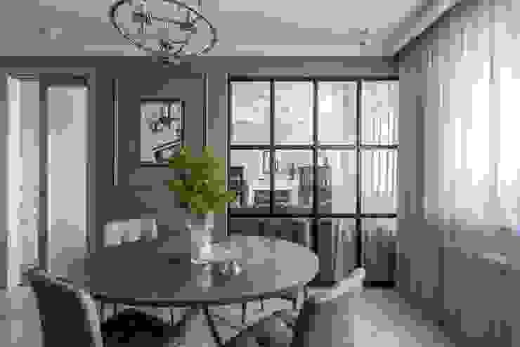 Портфолио Столовая комната в классическом стиле от AMD Design studio Классический