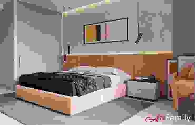 Цвет имеет значение Спальня в эклектичном стиле от Art Family Эклектичный
