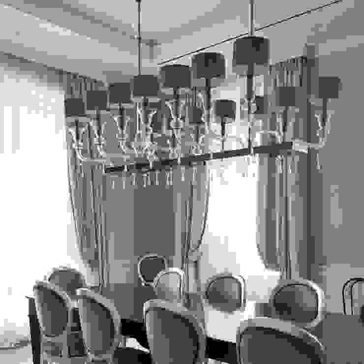 Cellini - Villa a Milano Sala multimediale in stile classico di MULTIFORME® lighting Classico