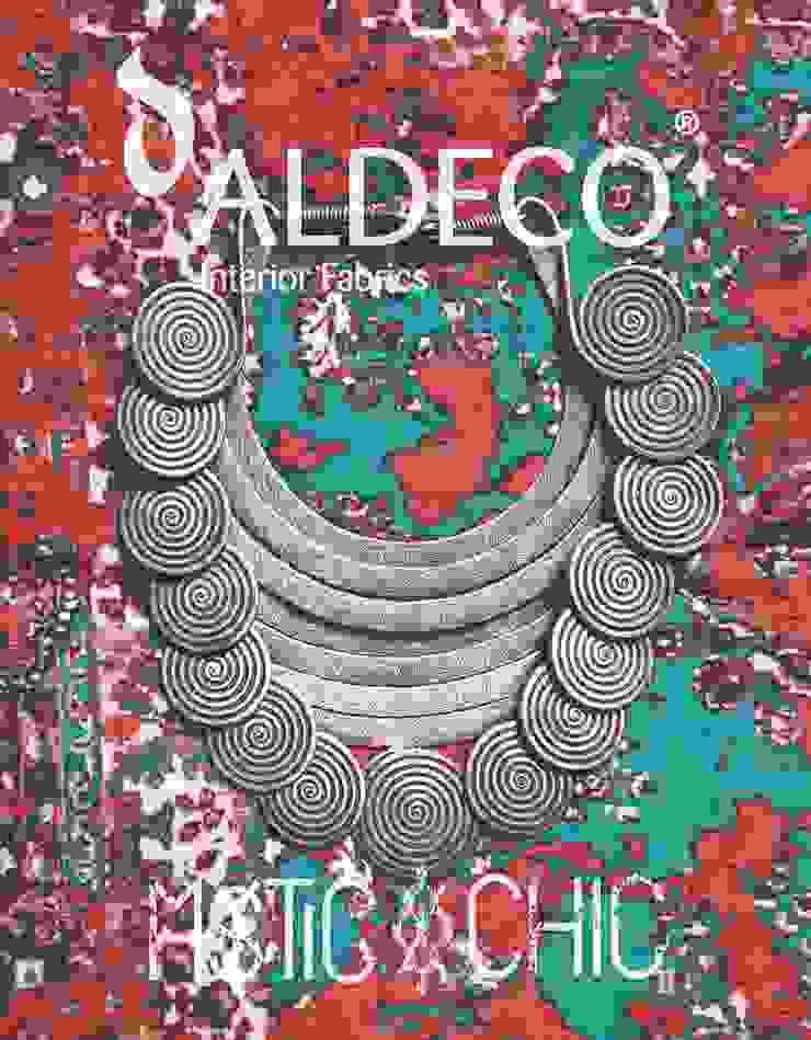 Mystic & Chic Collection 2016 por Aldeco Comércio Internacional S.A. Eclético Têxtil Ambar/dourado