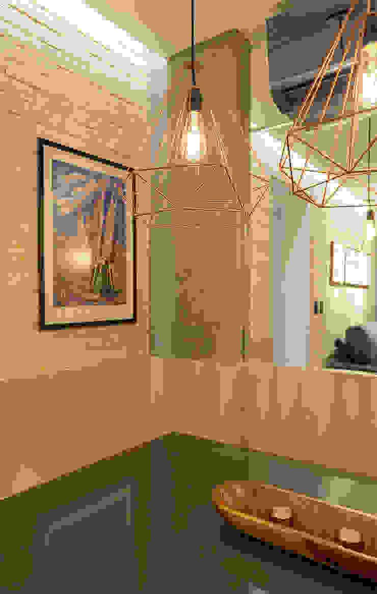 Comedores de estilo industrial de Cassiana Rubin Arquitetura Industrial