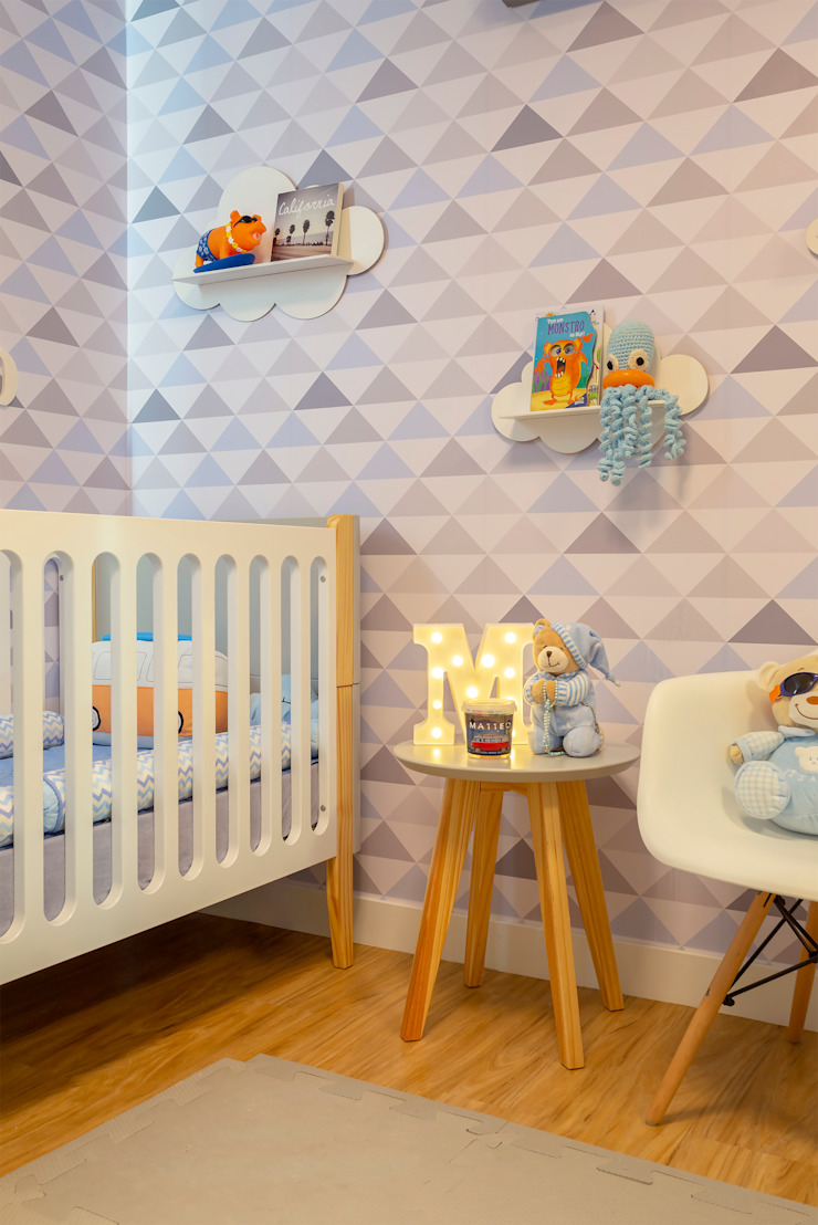 Cassiana Rubin Arquitetura Modern nursery/kids room