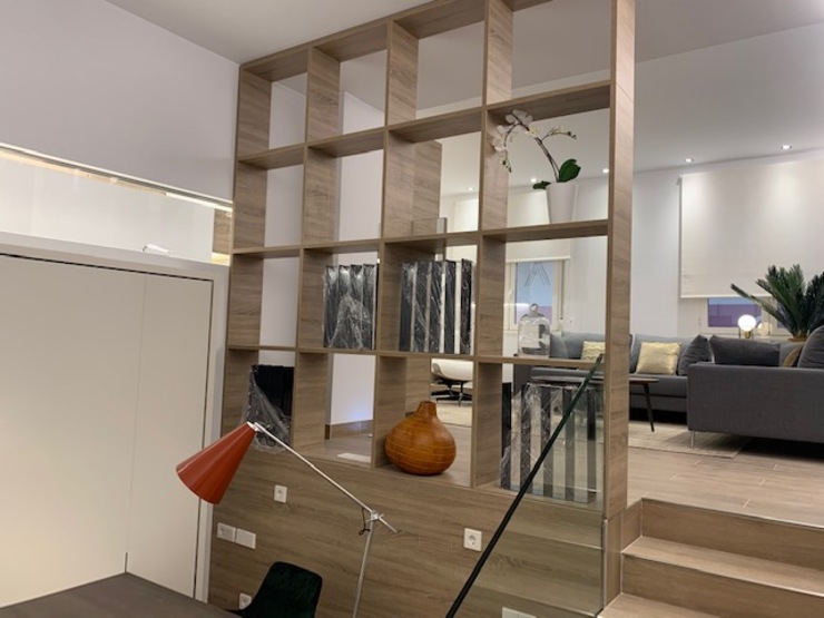 Reconversión cine dúplex a apartamentos en Barrio Salamanca, Madrid Bilbaodiseño Estudios y despachos de estilo moderno
