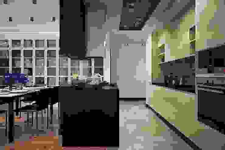 Кухня в интерьере Кухня в скандинавском стиле от Технологии дизайна Скандинавский