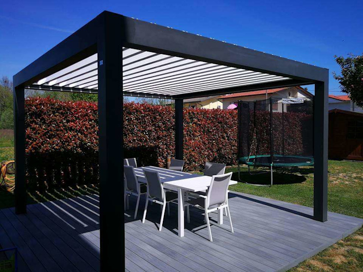 RGM srl Modern Houses Aluminium/Zinc