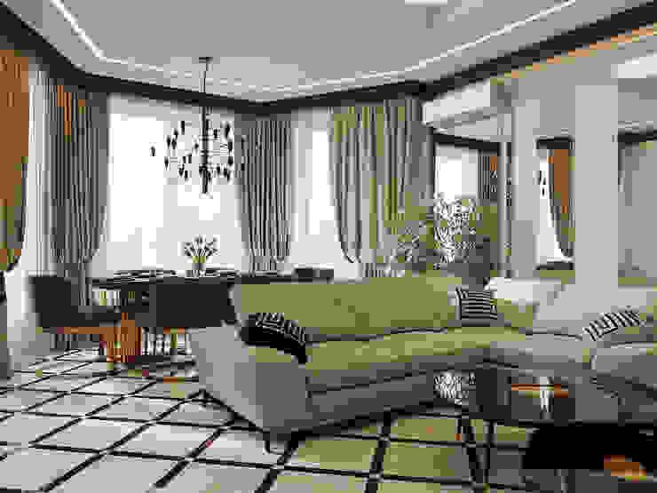 Salas de estilo clásico de Kris-Tina-Gera Clásico
