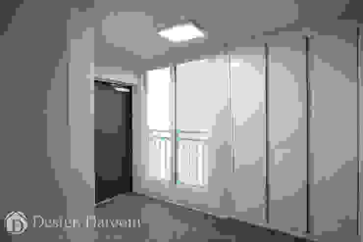우장산 롯데캐슬 45py 현관 모던스타일 복도, 현관 & 계단 by Design Daroom 디자인다룸 모던
