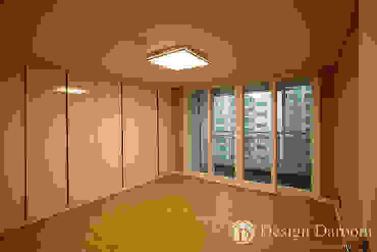 우장산 롯데캐슬 45py 안방 모던스타일 침실 by Design Daroom 디자인다룸 모던