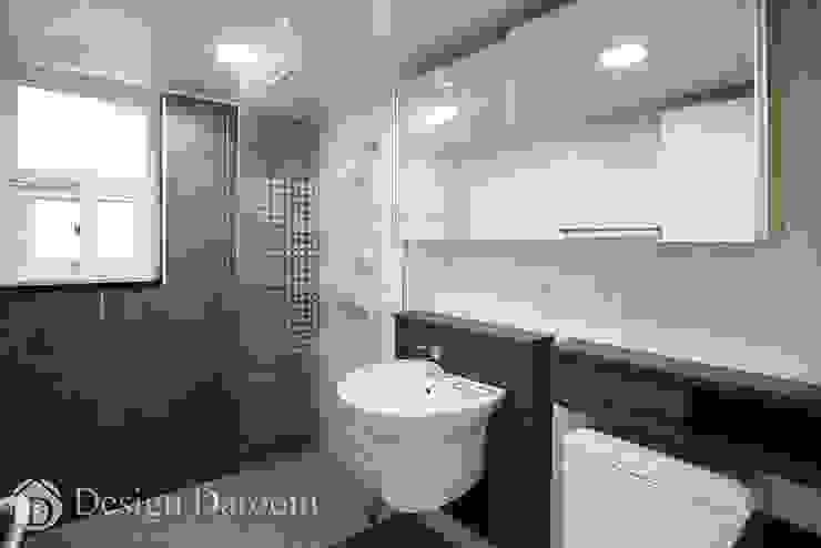 우장산 롯데캐슬 45py 안방 욕실 모던스타일 욕실 by Design Daroom 디자인다룸 모던