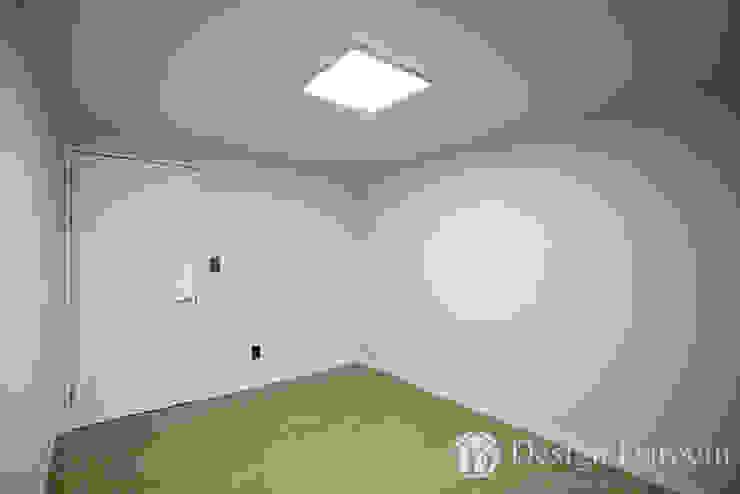 우장산 롯데캐슬 45py 침실 모던스타일 침실 by Design Daroom 디자인다룸 모던