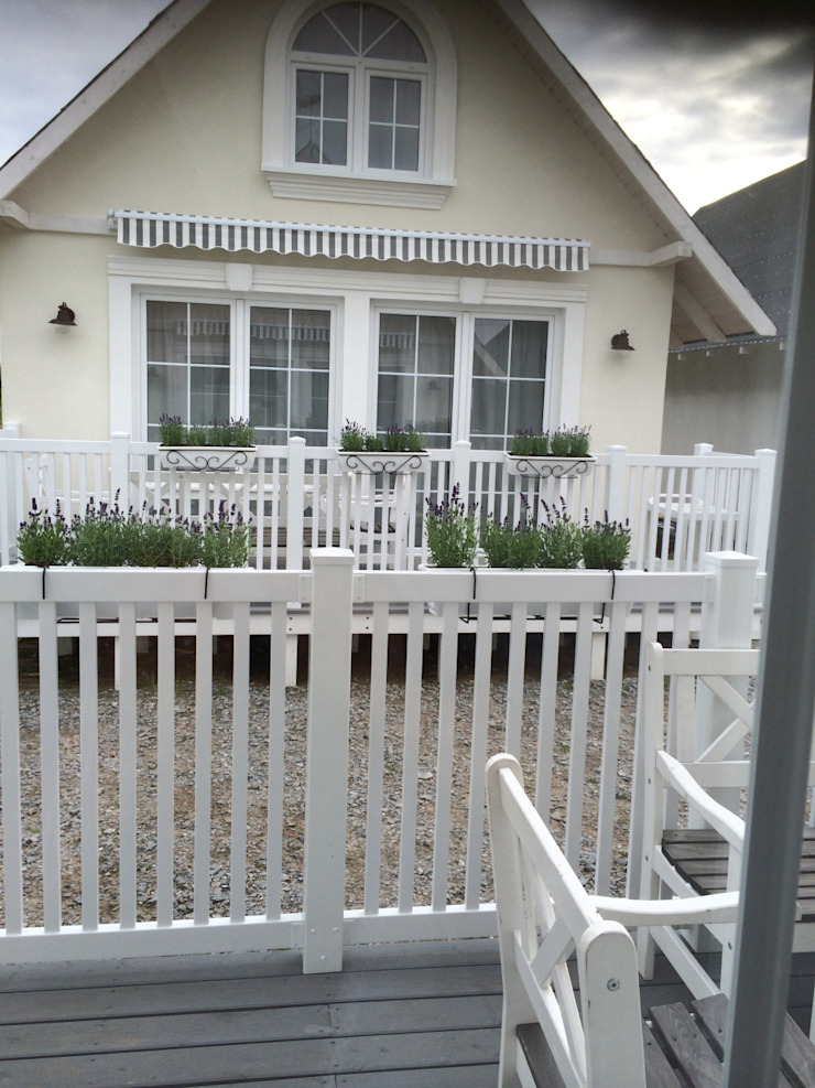 TOP FENCE s.c. Balcony Plastic White