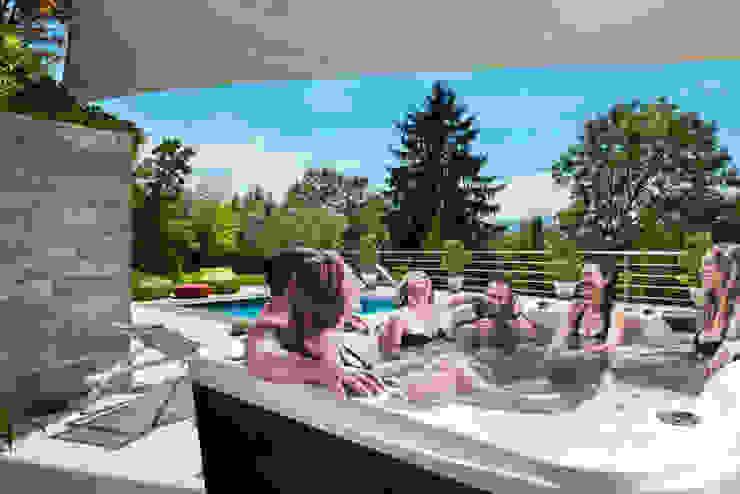Modern Garden by SPA Deluxe GmbH - Whirlpools in Senden Modern