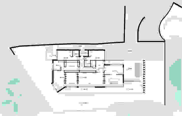 Planta da casa por José Melo Ferreira, Arquitecto Moderno